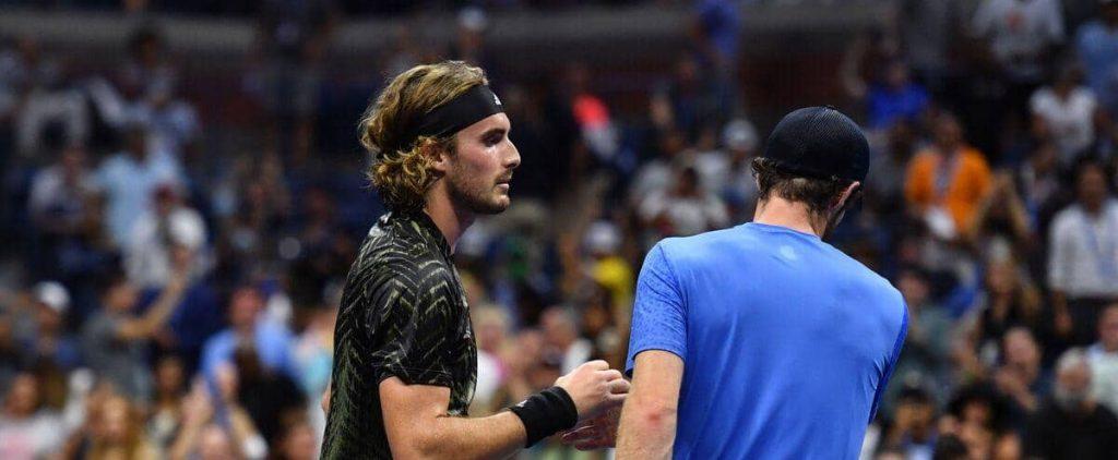 US Open: Murray jokes about Tsitsipas toilet breaks