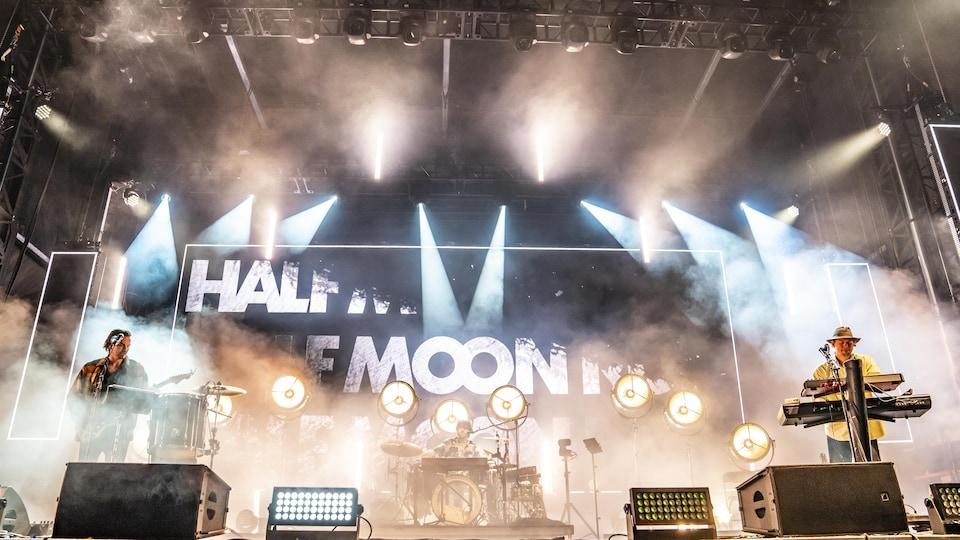 Half Moon Run performs in Osheaga.