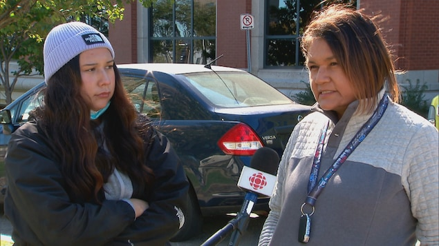 The Atcamico family files a complaint about racism in Quebec