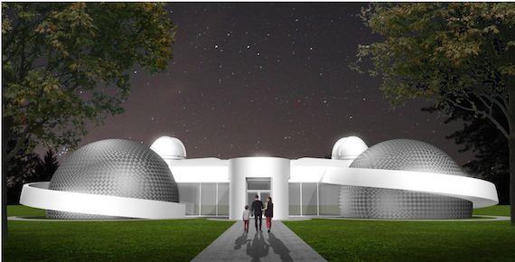 $12 million to set up a futuristic science center in Saint-Genevieve-de-Batescane