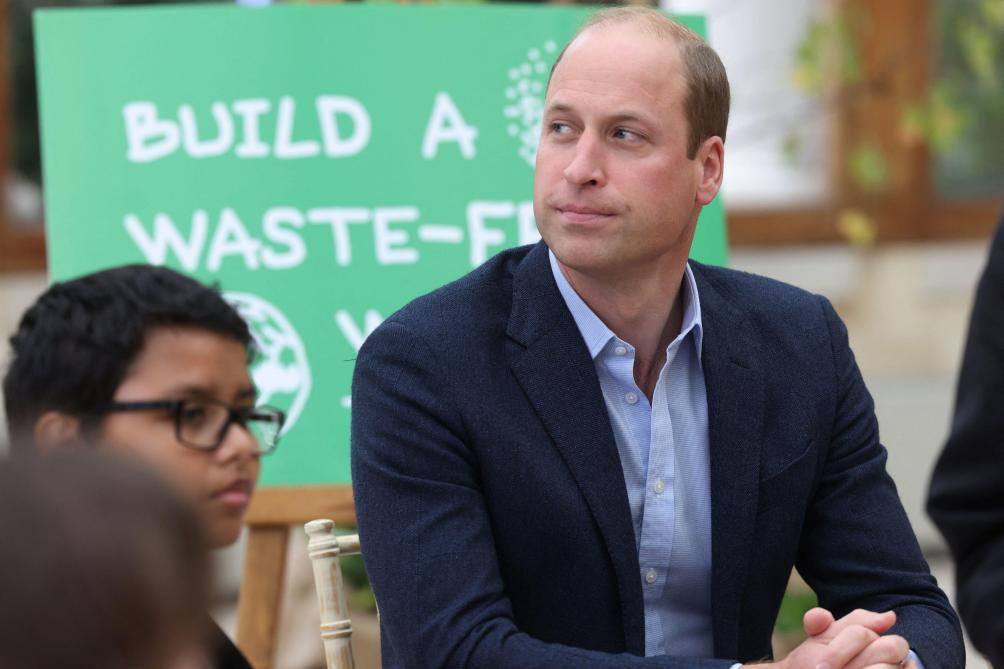 Climate: Prince William addresses space travel