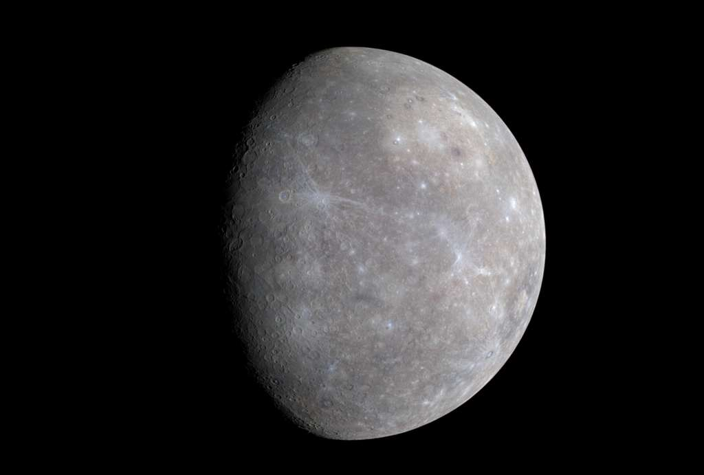 Mercury was captured by the Messenger probe in 2009 with his WAC camera.  © NASA, Johns Hopkins University Applied Physics Laboratory, Carnegie