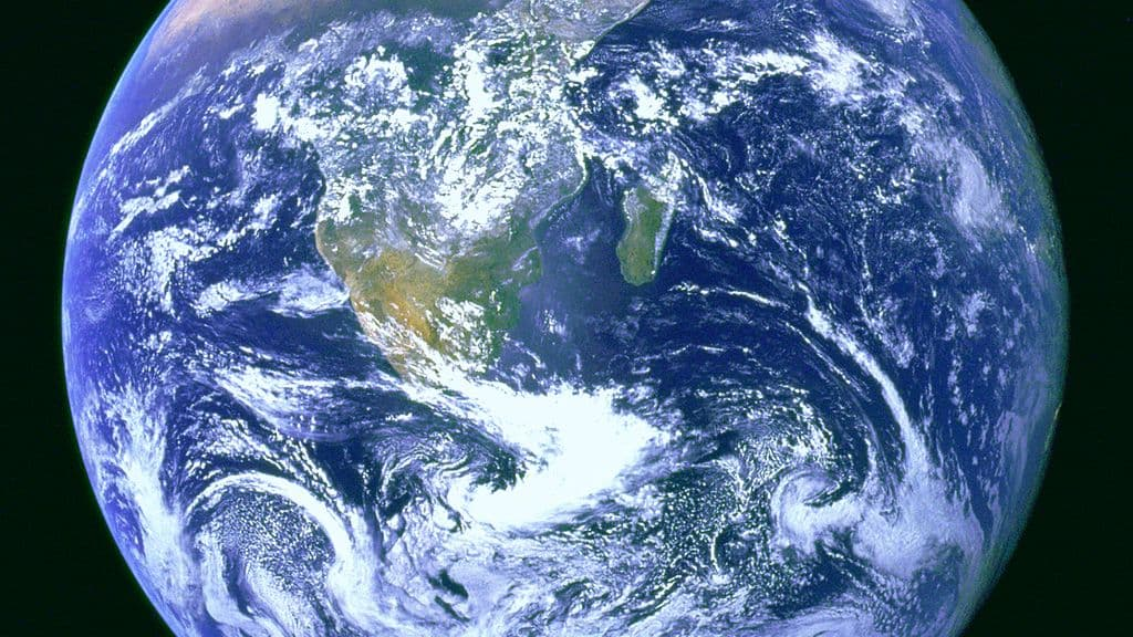 A study finds that the Earth's brightness is lower than before due to climate change