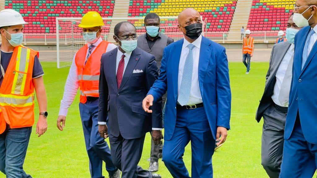 Africa Cup of Nations 2021: Paul Biya puts a small bridge in Mule Kombe
