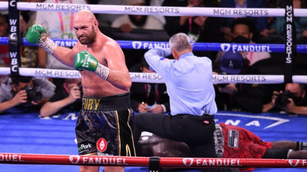 Boxing: Tyson Fury closes the books by knockout at Deontay Wilder's expense in Round 11