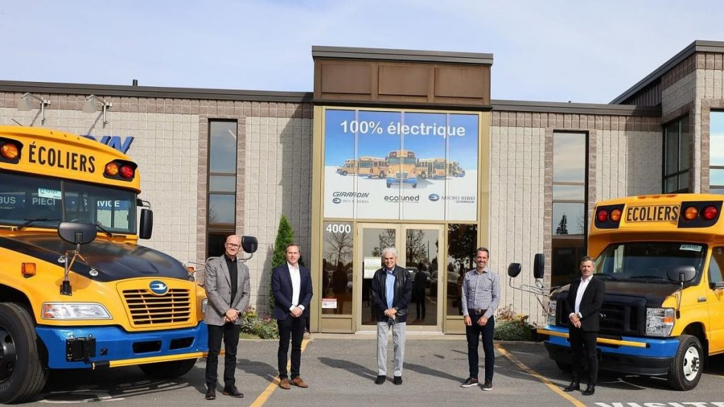 Intercar acquires 57 electric school buses from Girardin