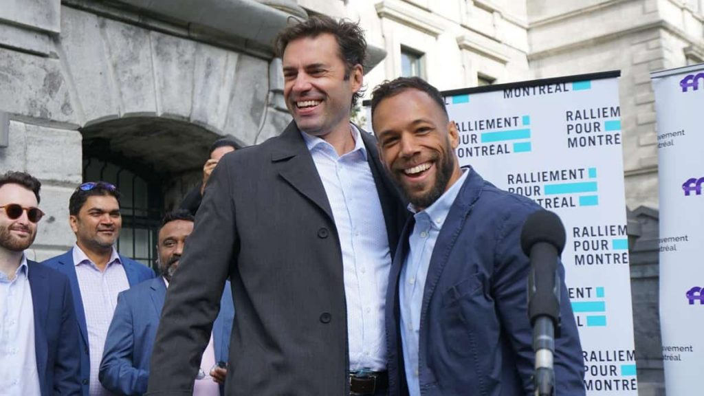 Municipal elections: Two candidates for mayor of Montreal unite