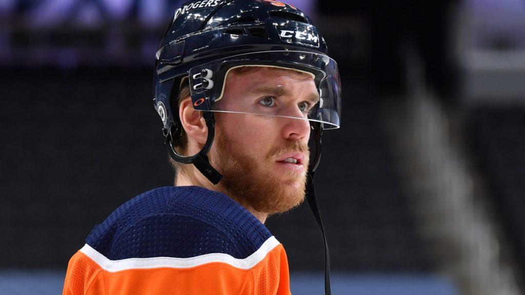 NHL: Conor McDavid upsets Chris Tanev