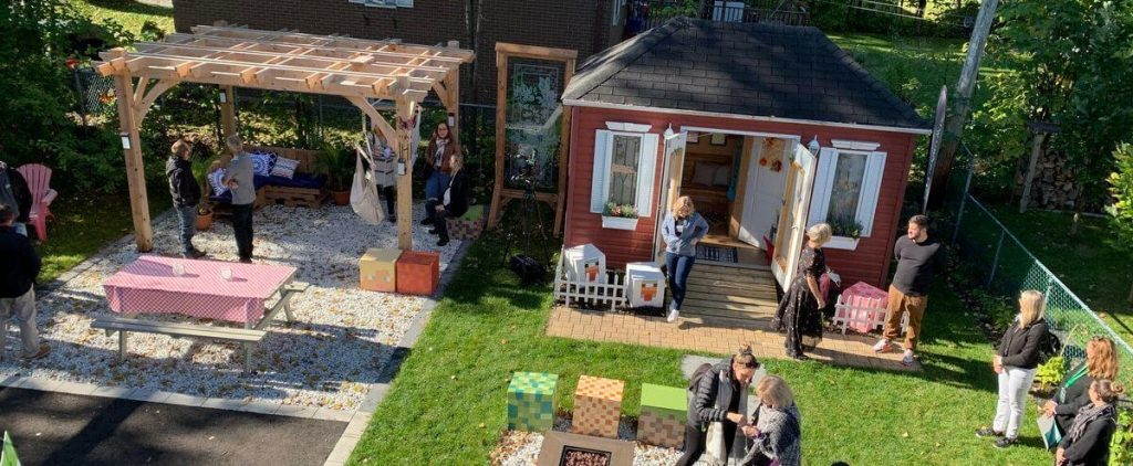 [PHOTOS] Fun garden opened in memory of Nora and Romy