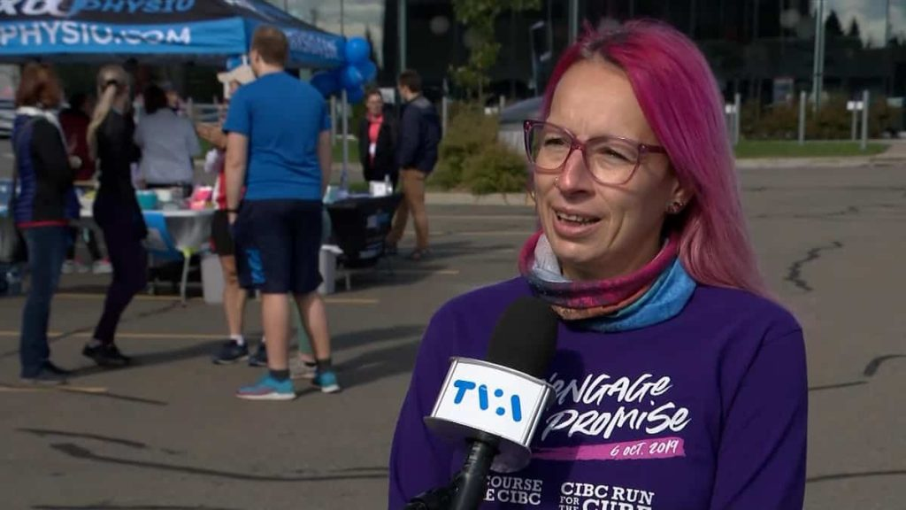 Running to beat breast cancer